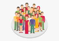 202 2024397 crowd clipart person icon group people icon png